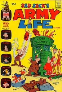 Cover Thumbnail for Sad Sack's Army Life Parade (Harvey, 1963 series) #25