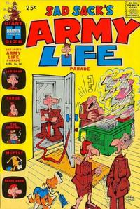 Cover Thumbnail for Sad Sack's Army Life Parade (Harvey, 1963 series) #34