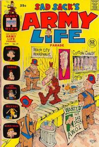 Cover Thumbnail for Sad Sack's Army Life Parade (Harvey, 1963 series) #41