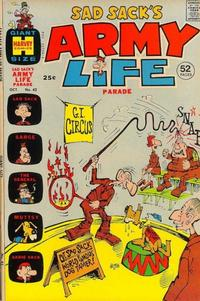 Cover Thumbnail for Sad Sack's Army Life Parade (Harvey, 1963 series) #42
