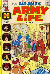 Cover Thumbnail for Sad Sack's Army Life Parade (Harvey, 1963 series) #55