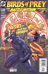 Cover Thumbnail for Birds of Prey (DC, 1999 series) #81