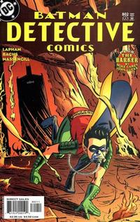 Cover Thumbnail for Detective Comics (DC, 1937 series) #802
