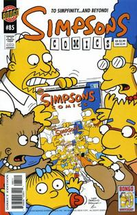 Cover Thumbnail for Simpsons Comics (Bongo, 1993 series) #85