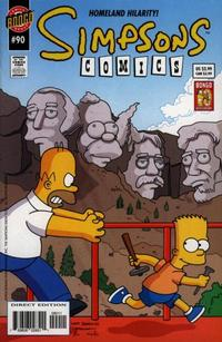 Cover Thumbnail for Simpsons Comics (Bongo, 1993 series) #90