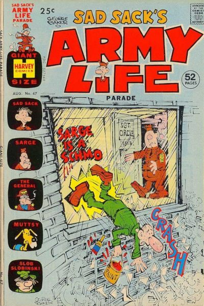 Cover for Sad Sack's Army Life Parade (1963 series) #47