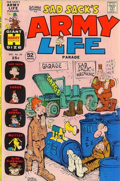 Cover for Sad Sack's Army Life Parade (1963 series) #49
