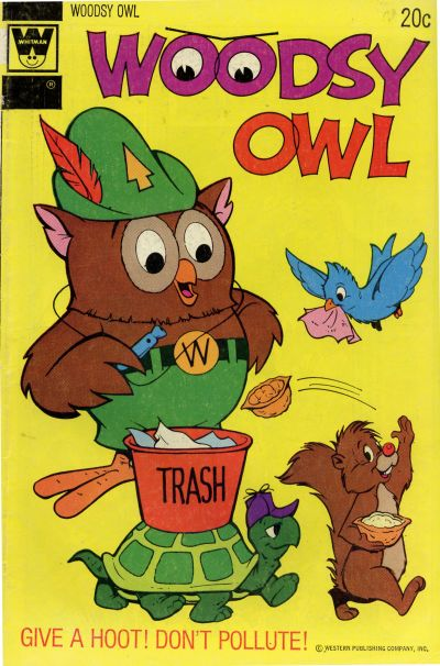Cover for Woodsy Owl (Western, 1973 series) #1 [Gold Key Variant]