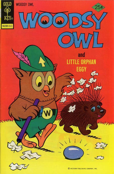 Cover for Woodsy Owl (Western, 1973 series) #9