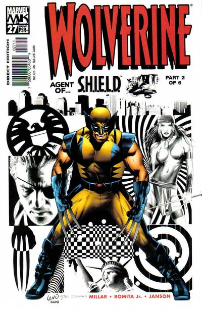 Cover for Wolverine (2003 series) #27 [Land Cover]