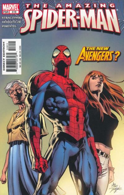 Cover for The Amazing Spider-Man (1999 series) #519 [Direct Edition]