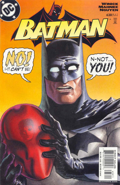 Cover for Batman (DC, 1940 series) #638 [Jason Todd Cover - 2nd print]