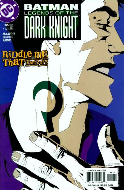 Cover for Batman: Legends of the Dark Knight (1992 series) #186