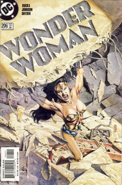 Cover for Wonder Woman (DC, 1987 series) #206