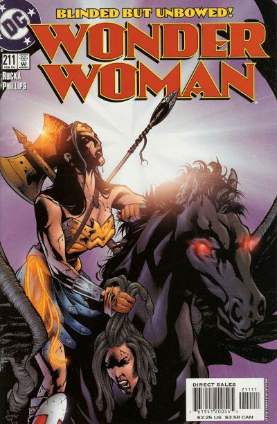 Cover for Wonder Woman (1987 series) #211