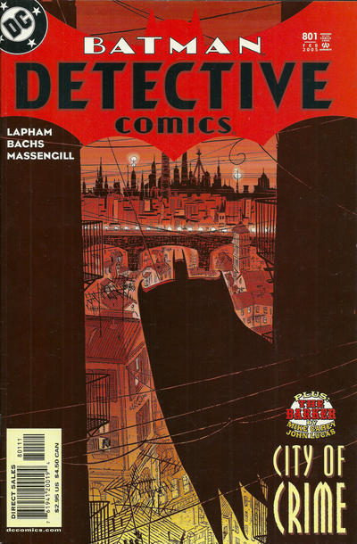 Cover for Detective Comics (DC, 1937 series) #801