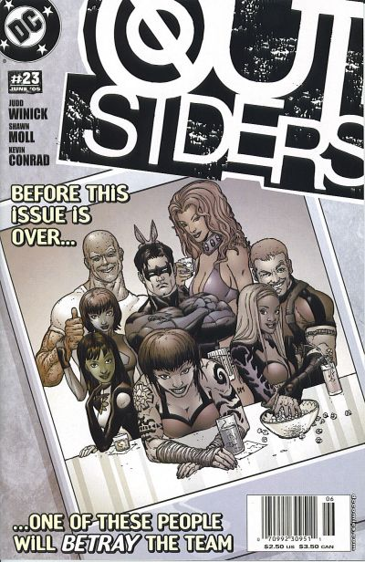 Cover for Outsiders (DC, 2003 series) #23 [Direct-Sale Variant]