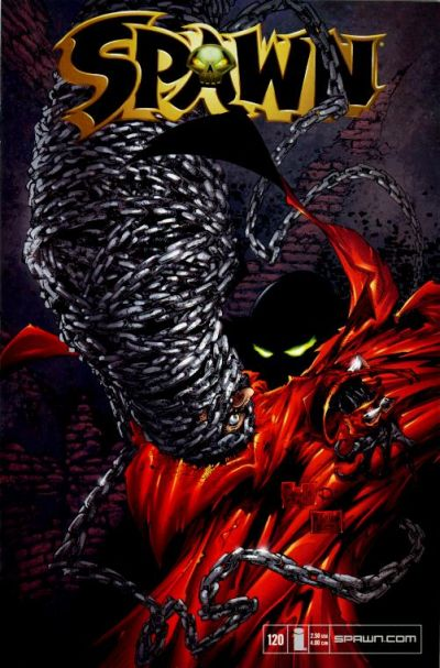 Cover for Spawn (Image, 1992 series) #120