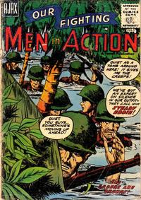 Cover Thumbnail for Men in Action (Farrell, 1957 series) #2