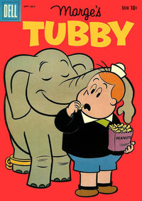 Cover Thumbnail for Marge's Tubby (Dell, 1953 series) #36