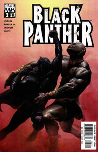 Cover for Black Panther (Marvel, 2005 series) #2 [Direct Edition]