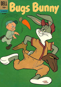 Cover Thumbnail for Bugs Bunny (Dell, 1952 series) #85