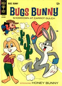 Cover Thumbnail for Bugs Bunny (Western, 1962 series) #108