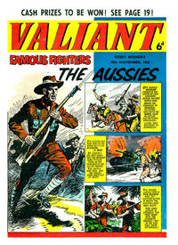 Cover for Valiant (1962 series) #10 November 1962 [6]