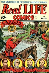 Cover Thumbnail for Real Life Comics (Standard, 1941 series) #30