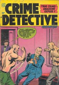 Cover Thumbnail for Crime Detective Comics (Hillman, 1948 series) #v3#6