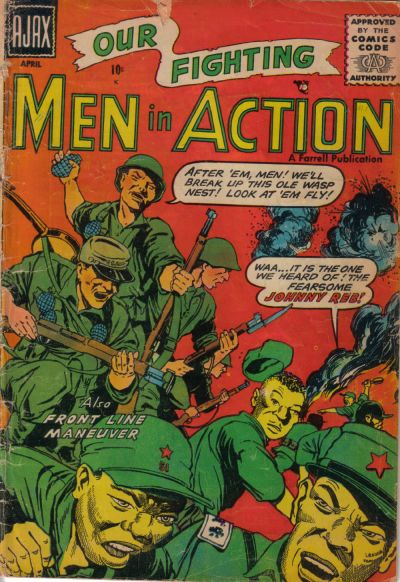 Cover for Men in Action (Farrell, 1957 series) #1