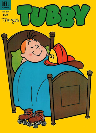 Cover for Marge's Tubby (Dell, 1953 series) #9