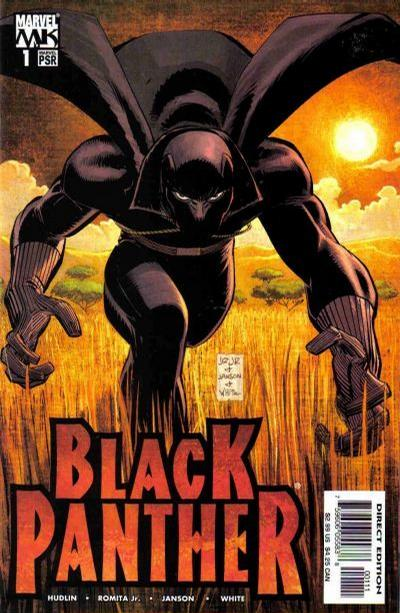 Cover for Black Panther (2005 series) #1