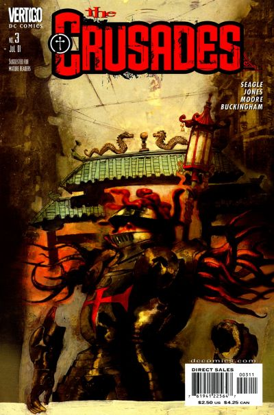 Cover for The Crusades (DC, 2001 series) #3