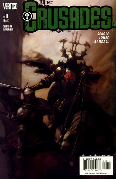 Cover for The Crusades (DC, 2001 series) #11