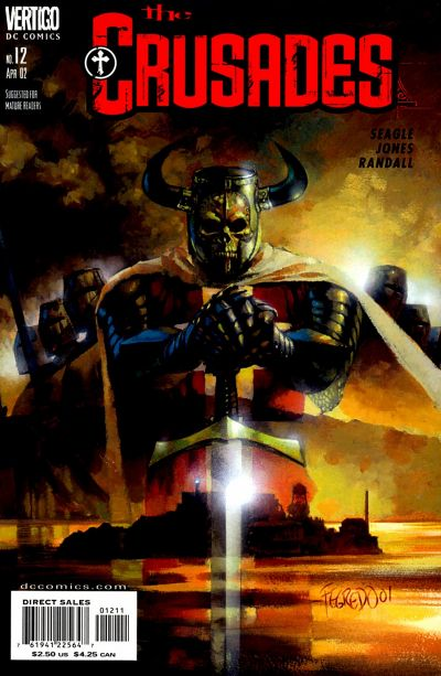 Cover for The Crusades (DC, 2001 series) #12