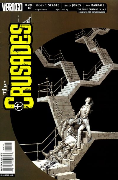 Cover for The Crusades (DC, 2001 series) #16