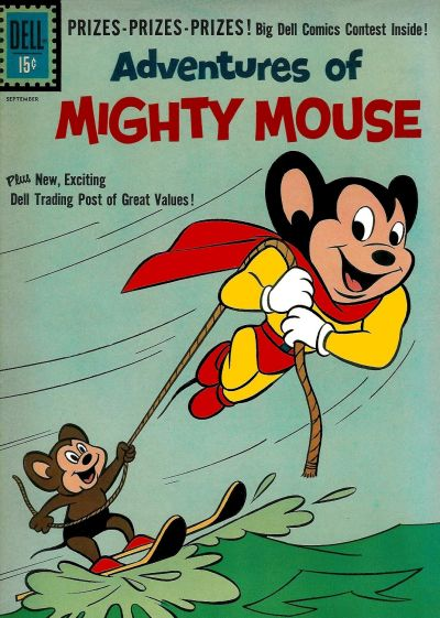 Cover for Adventures of Mighty Mouse (Dell, 1959 series) #151