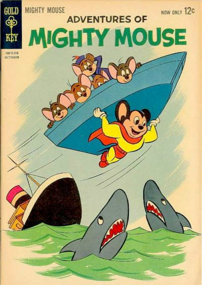 Cover for Adventures of Mighty Mouse (1962 series) #156