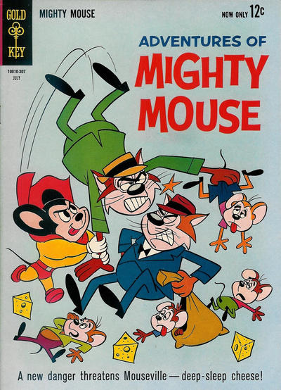Cover for Adventures of Mighty Mouse (Western, 1962 series) #159
