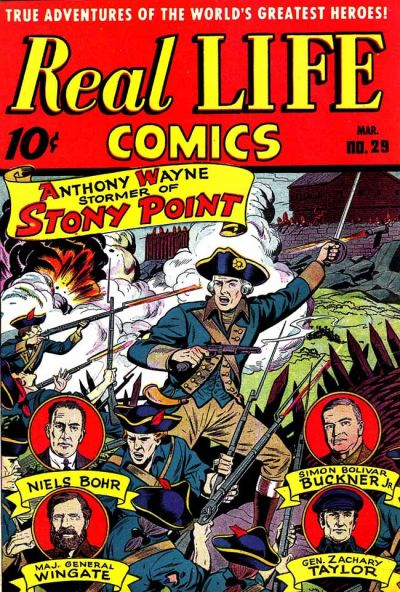 Cover for Real Life Comics (Standard, 1941 series) #29