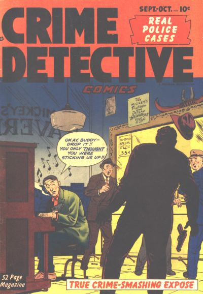 Cover for Crime Detective Comics (Hillman, 1948 series) #v2#4