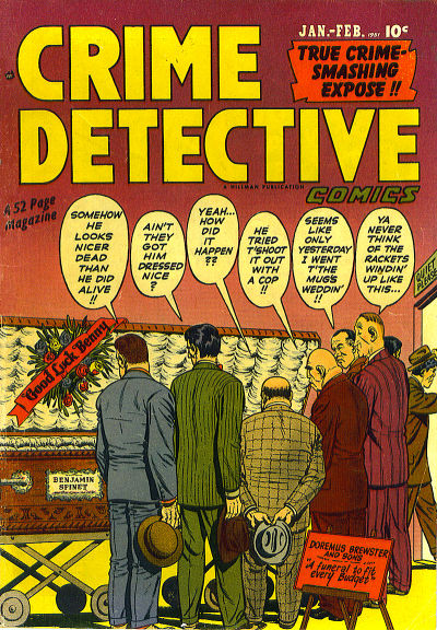Cover for Crime Detective Comics (Hillman, 1948 series) #v2#6