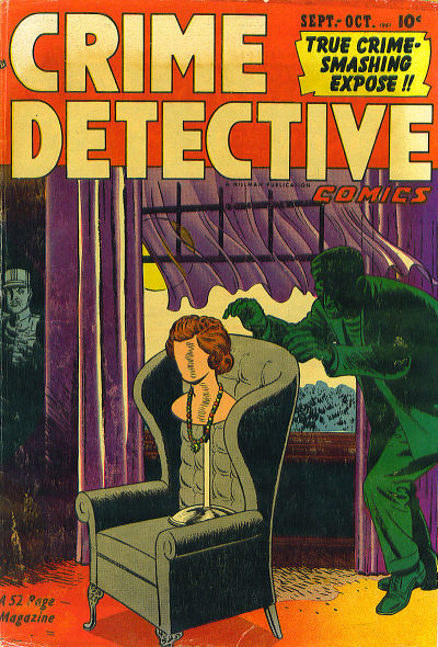 Cover for Crime Detective Comics (Hillman, 1948 series) #v2#10