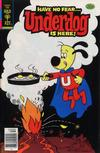Cover Thumbnail for Underdog (1975 series) #22 [Gold Key Variant]