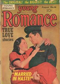 Cover for Young Romance (1947 series) #v4#12 (36)