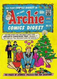 Cover for Archie Comics Digest (Archie, 1973 series) #16