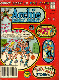 Cover Thumbnail for Archie Comics Digest (Archie, 1973 series) #30