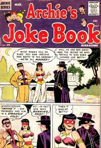 Cover Thumbnail for Archie's Joke Book Magazine (Archie, 1953 series) #39