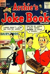 Cover Thumbnail for Archie's Joke Book Magazine (Archie, 1953 series) #41